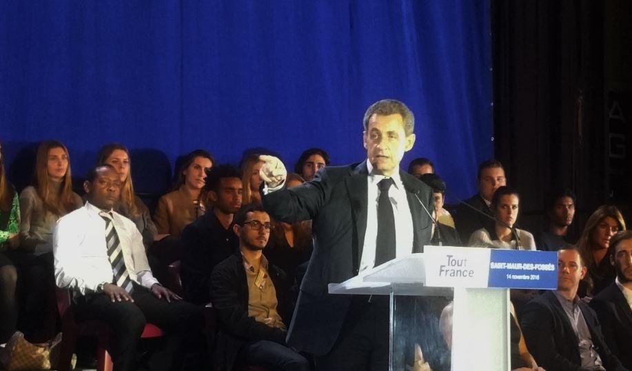Meeting Primaire Sarkozy Saint-Maur Novembre 2016 Nicolas Sarkozy
