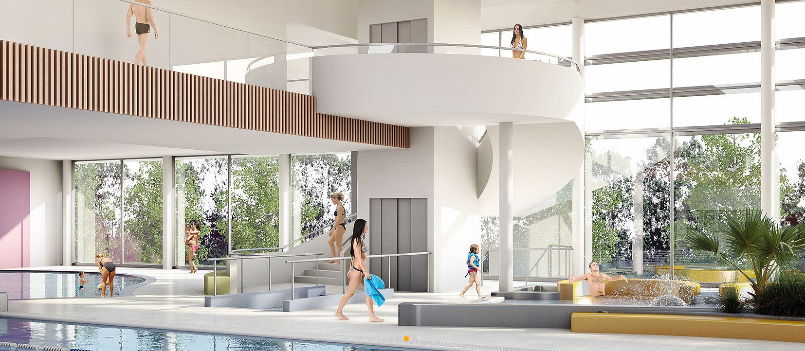 Le futur centre aquatique de vitry sur seine en images for Tarif piscine enterree posee