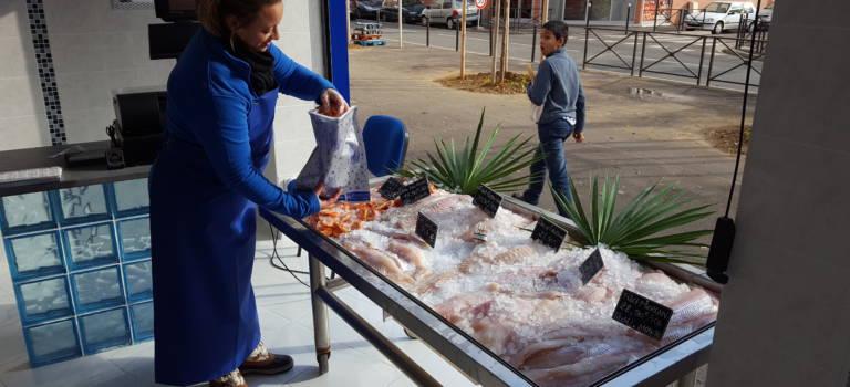 La Sirène de la mer, une nouvelle poissonnerie à Vitry-sur-Seine