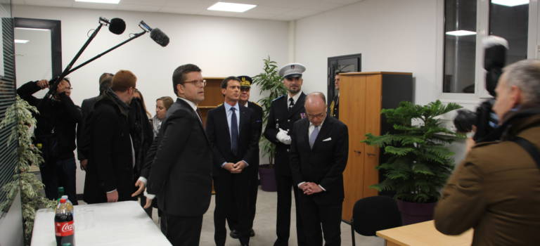 Depuis Alfortville, Manuel Valls encourage les polices municipales