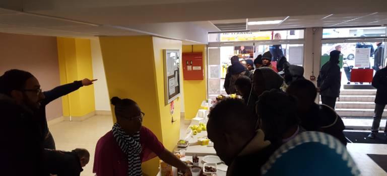 300 migrants accueillis à Champigny, Nogent et Choisy-le-Roi