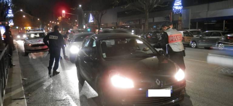 La police met le paquet sur les contrôles routiers en Val-de-Marne avant les fêtes