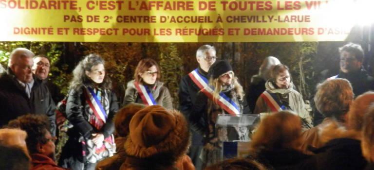Accueil de nouveaux demandeurs d'asile à Chevilly-Larue: vers une résolution du conflit