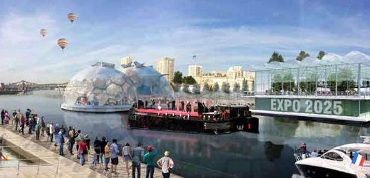 Les entreprises jouent en équipe pour attirer l'Expo universelle en Val-de-Marne