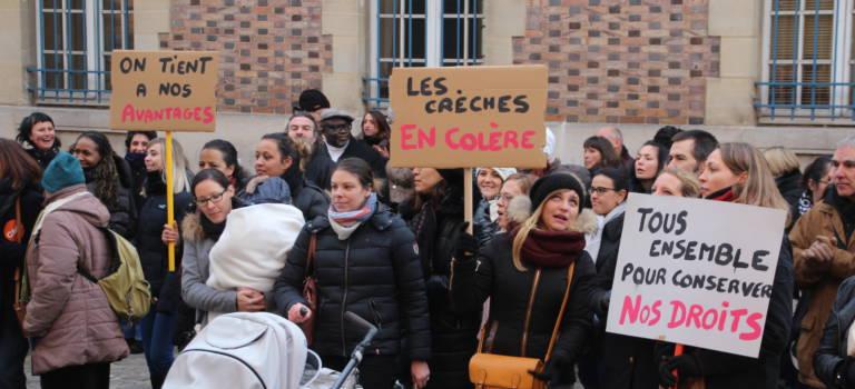 Les agents municipaux de Charenton-le-Pont reconduisent leur grève