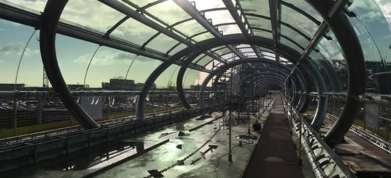 L'aéroport d'Orly dévoile sa méga-passerelle pour relier le futur quartier d'affaires