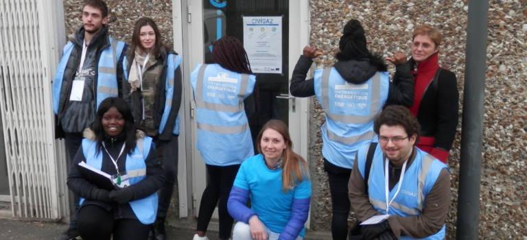 Une matinée avec les volontaires contre la précarité énergétique à Champigny-sur-Marne
