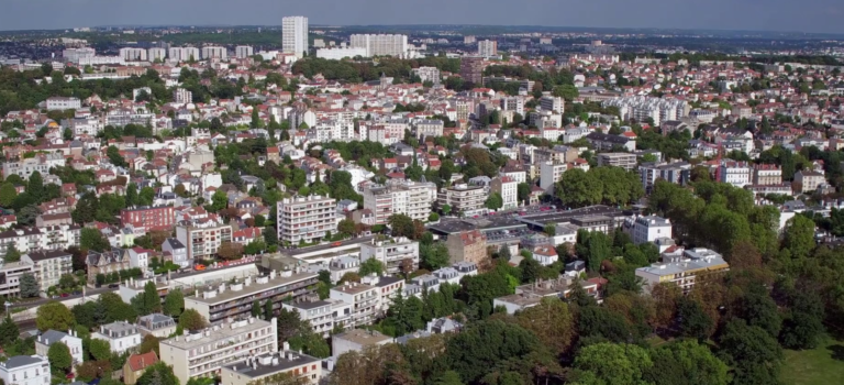 Vu du ciel : Fontenay-sous-Bois fait sa promo en drone