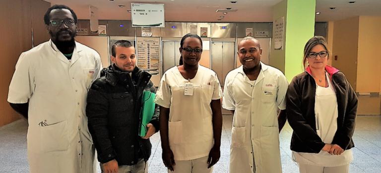 L'hôpital de Villeneuve-Saint-Georges forme du personnel médical d'Haïti