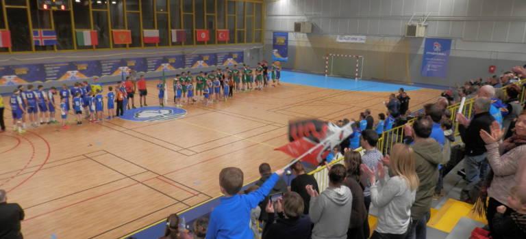 Chaude ambiance au Plessis-Trévise pour le Mondial de hand des moins de 17 ans