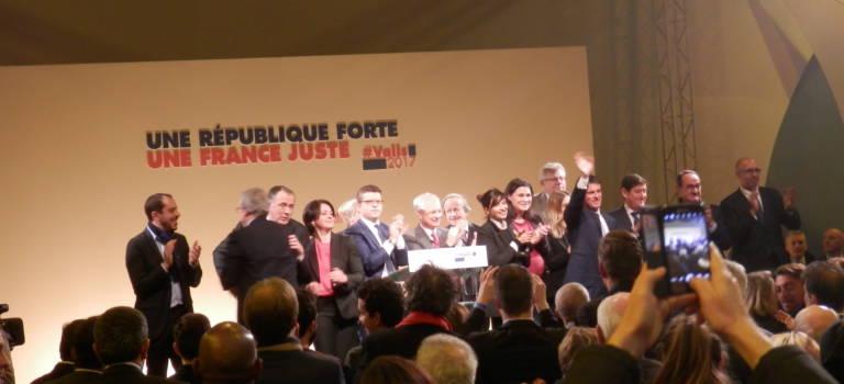 """""""Manu président"""" A Alfortville, les soutiens de Valls y croient jusqu'au bout"""