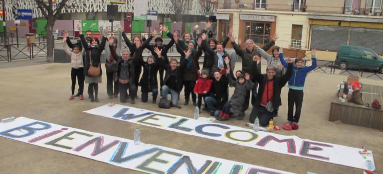Le collectif du Port à l'Anglais souhaite la bienvenue aux réfugiés d'Ivry-sur-Seine