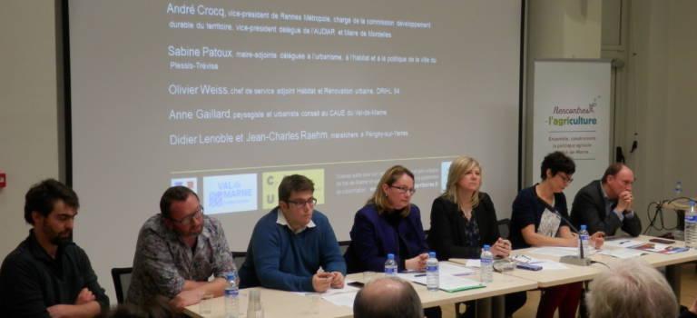 Concilier légumes et logements, retour sur les rencontres de l'agriculture en Val-de-Marne