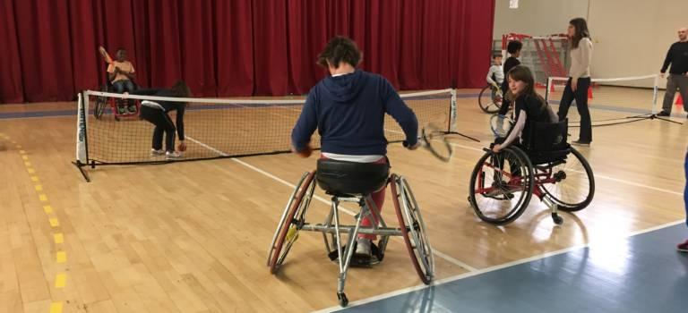 Les élèves d'Alfortville ont fait du sport avec des champions olympique et paralympique