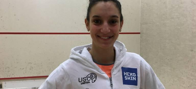 Dixième titre national pour la squasheuse Camille Serme
