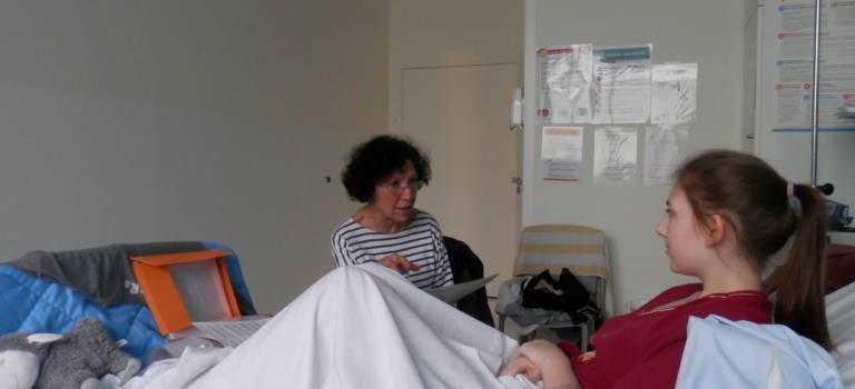 L'art et la lecture au chevet des jeunes hospitalisés du Chic de Créteil