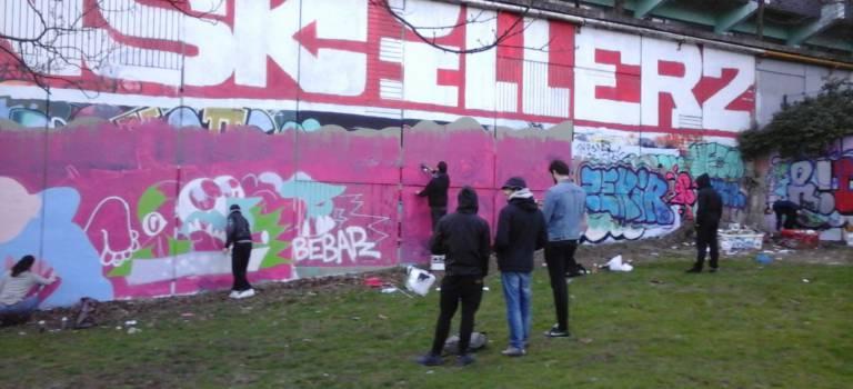 A Ivry et Vitry-sur-Seine, le street-art en perpétuelle recomposition