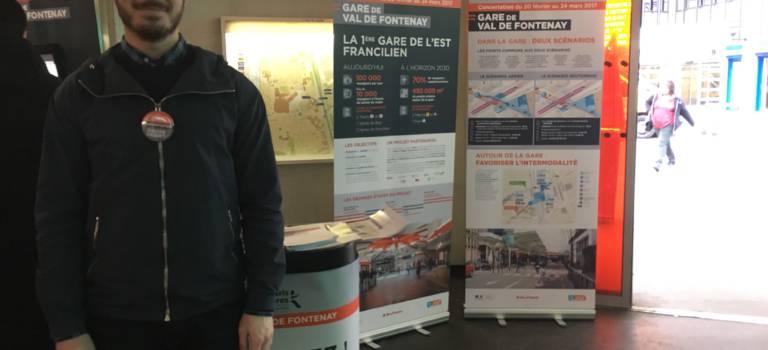 A Fontenay-sous-Bois, les voyageurs impatients de leur nouvelle gare