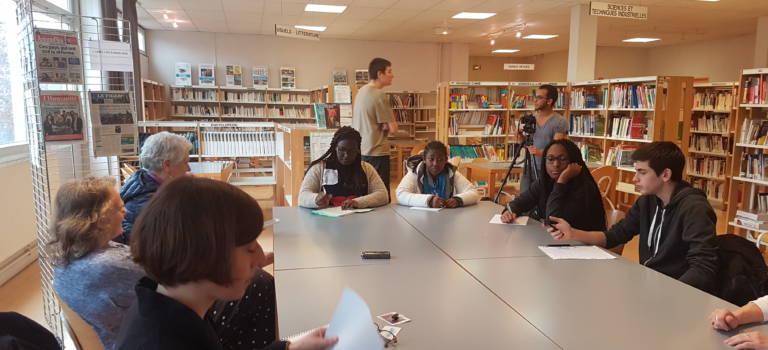 Succès pour la journée d'action égalité femme-homme au lycée Langevin Wallon de Champigny