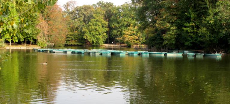 Louer une barque au Bois de Vincennes