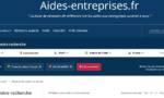 Un site pour identifier les aides publiques pour son entreprise en deux clics