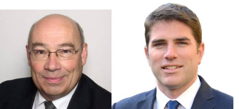 Primaire LR-UDI entre Vincent Jeanbrun et Bernard Queau dans la septième