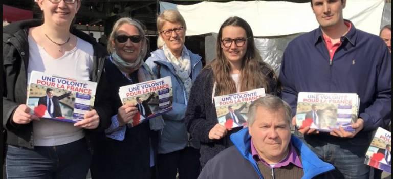 Campagne pour Fillon contre vents et marées à Fontenay-sous-Bois
