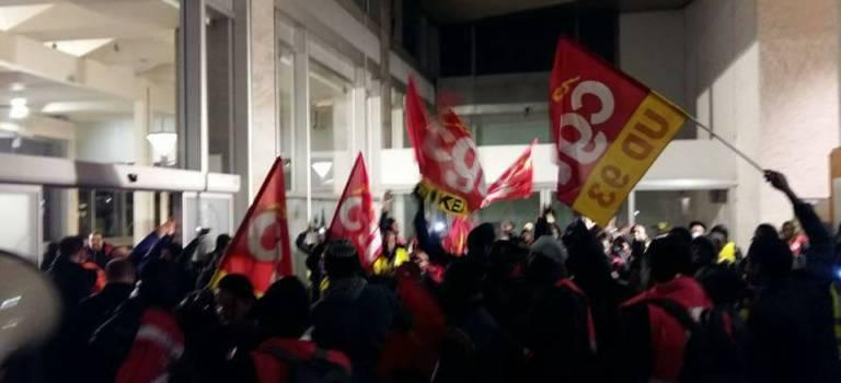 Au MIN de Rungis, l'occupation de la Semmaris par les travailleurs sans papiers se poursuit