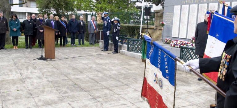 Commémorations en Val-de-Marne du 72e anniversaire de la libération des camps
