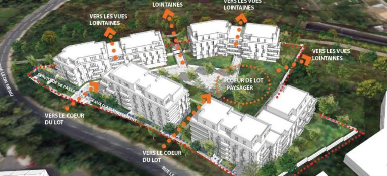 A Bry-sur-Marne, la zac des Fontaines-Giroux va accueillir logements et extension de l'INA