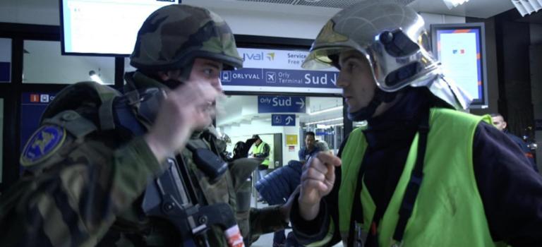 Retour sur la simulation d'attentat terroriste à l'aéroport d'Orly