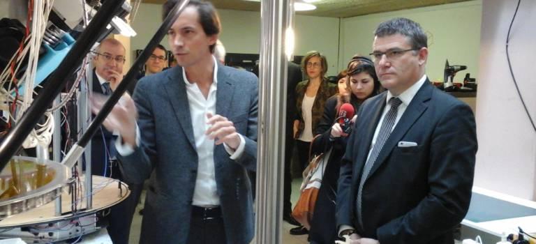En visite chez le champion de l'impression 3D à Ivry, le ministre veut booster la filière