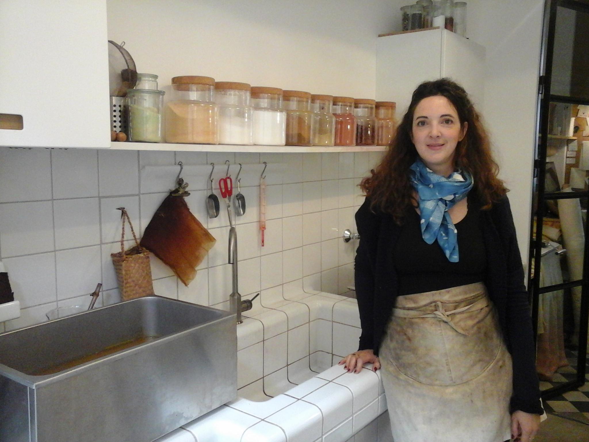 Rencontre avec Aurélia Wolff artisan ivryenne spécialiste de la