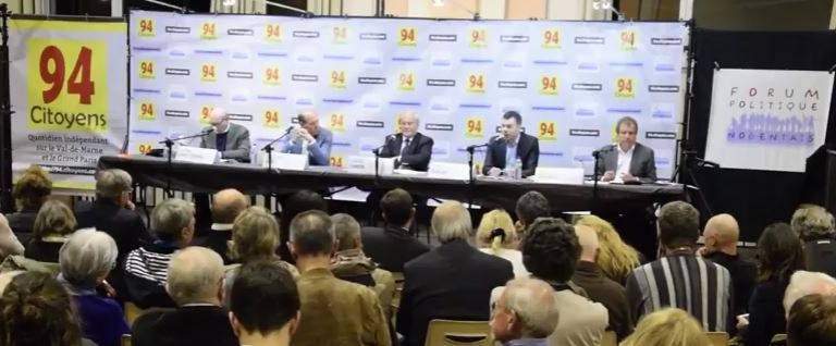 Retour en vidéo sur le débat des présidentielles entre élus du Val-de-Marne