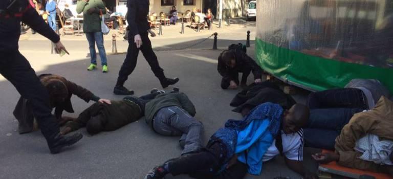 14 blessés suite à une manif de travailleurs sans-papiers en mairie d'Alfortville