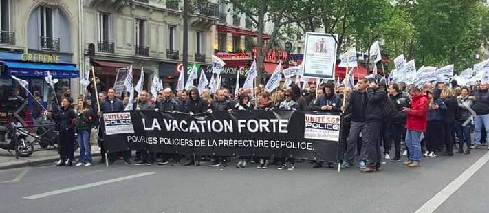 Près de 500 policiers du Val-de-Marne à Paris pour une nouvelle marche de la colère