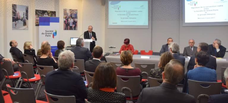 Une convention SGP- Valophis Habitat pour anticiper les nuisances et opportunités du Grand Paris Express