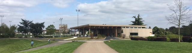 Nouvelle salle polyvalente au parc du Tremblay à Champigny-sur-Marne
