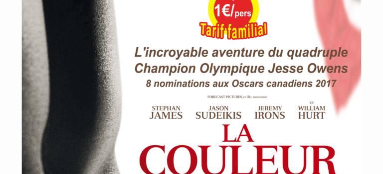 Ciné-débat sport autour de La couleur de la victoire à Villeneuve-le-Roi