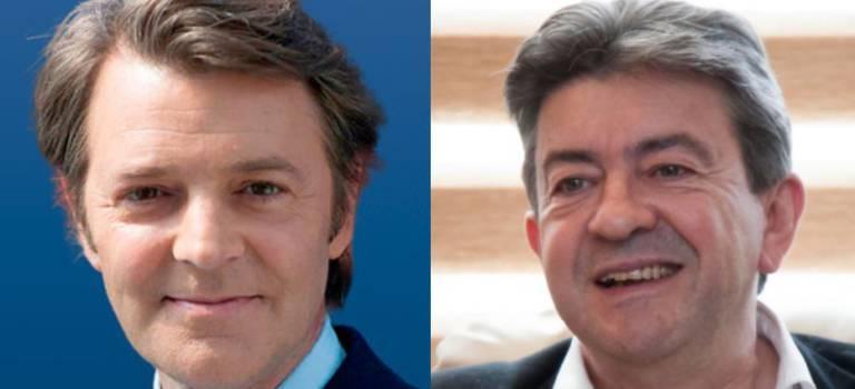 Législatives: Mélenchon lance la campagne à Villejuif, Baroin au bois de Vincennes