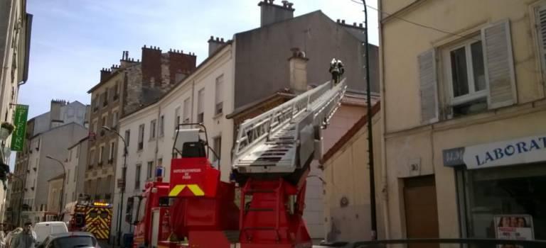 Incendie dans une laverie à Nogent-sur-Marne