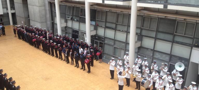 Des policiers du Val-de-Marne récompensés pour leur bravoure
