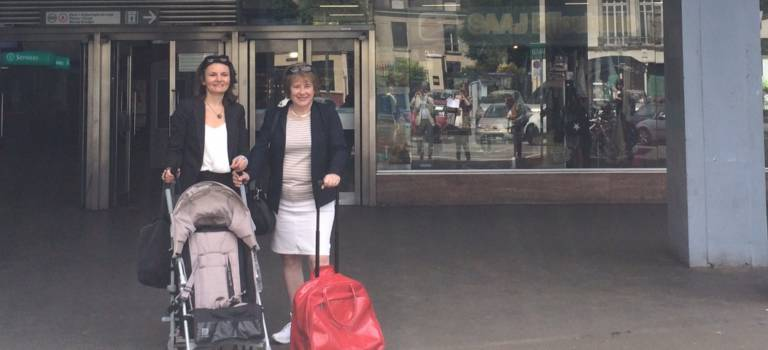 Législatives Val-de-Marne – Essonne : Laurence Abeille et Eva Sas testent la galère des transports