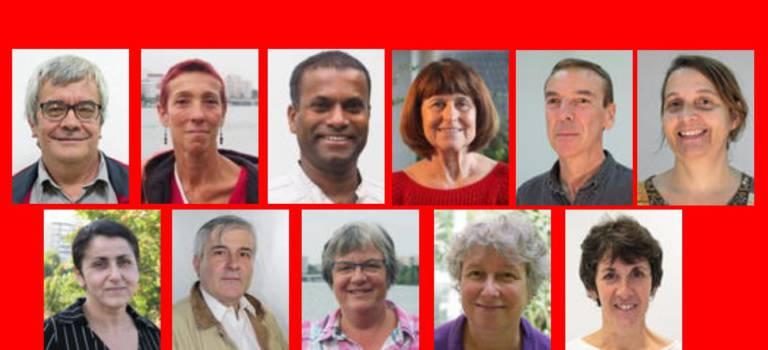 Les candidats Lutte Ouvrière en Val-de-Marne