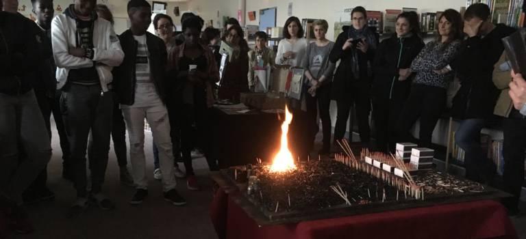 Filles, garçons en 14-18, on fait quoi maintenant?, exposition des élèves du collège Guy Môquet de Villejuif