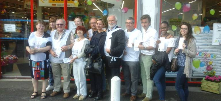 A Saint-Maur-des-Fossés, épicerie solidaire et Simply Market font cause commune