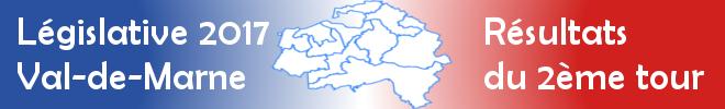 Législative 2017 en Val-de-Marne : les résultats détaillés du 2nd tour