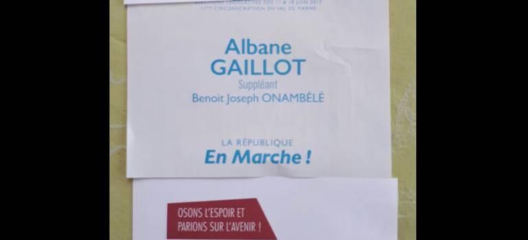 Les bulletins se réclamant de la majorité présidentielle agacent En Marche à Villejuif