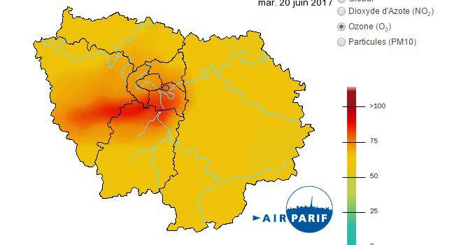 Alerte orange canicule et pic de pollution en Val-de-Marne