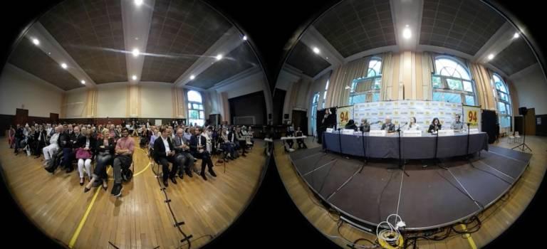 Retour en vidéo 360° sur le débat des législatives 2017 à Nogent-sur-Marne